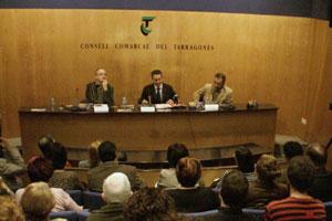 Conferència al Consell Comarcal del Tarragonès, abril 2008
