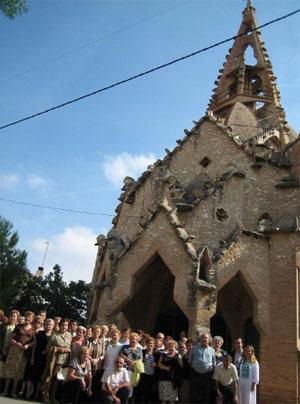 Església de Vistabella, setembre 2007.