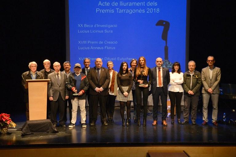 Premis Tarargonès 2018