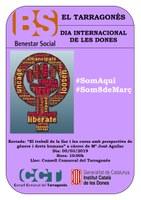 Activitats del Consell Comarcal del Tarragonès en motiu del Dia Internacional de les Dones