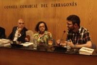 CRISTIAN FERRER GONZÁLEZ VA PRESENTAR EL SEU LLIBRE, PREMI TARRAGONÈS 2016