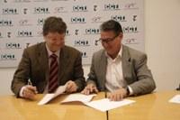 """El Consell Comarcal del Tarragonès ha signat un conveni amb la fundació Cp'Ac per desenvolupar el programa """"ENGINY"""""""