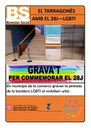 EL CONSELL COMARCAL DEL TARRAGONÈS S'ADHEREIX A LES ACCIONS PER COMMEMORAR EL DIA INTERNACIONAL DE L'ORGULL LGBTI