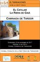 EL CONSELL CONSULTIU DE LA GENT GRAN DEL TARRAGONÈS ORGANITZA LA CAMINADA DE TARDOR
