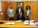 El Secretari General de l'Esport visita el Consell Esportiu del Tarragonès