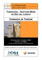 LA GENT GRAN DEL TARRAGONÈS PROTAGONITZARÀ DIVENDRES 8 DE NOVEMBRE LA TRADICIONAL CAMINADA DE TARDOR