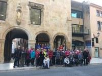 La Gent Gran del Tarragonès realitza la seva caminada curta de tardor