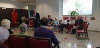 Lectures a les residències de Sta. Tecla Llevant i Ponent per St. Jordi