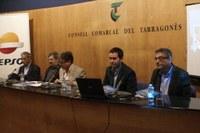 """L'EDUARD JUNCOSA VA PRESENTAR EL LLIBRE   """"LA POBLACIÓ DE TARRAGONA DE LA CRISI BAIXMEDIEVAL A LA DE L'ANTIC RÈGIM"""", PREMI TARRAGONÈS BECA D'INVESTIGACIÓ 2014, DEL CONSELL COMARCAL"""