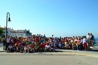 Més de dues-centes persones participen a la caminada de primavera del Consell Comarcal