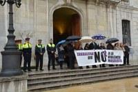 MINUT DE SILENCI PEL CRIM DE LA POBLA DE MAFUMET