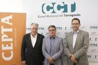 """Presentació de les """"II Jornades Comarcals Empresa i Territori al Tarragonès"""" al Consell Comarcal del Tarragonés."""