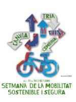 Setmana de la Mobilitat  Sostenible i Segura 2015 'Tria. Canvia. Combina.' De l'11 al 18 d'octubre de 2015