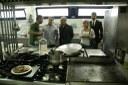 Visita del president del Consell Comarcal del Tarragonès al menjador de l'Escola l'ANTINA, a Torredembarra.